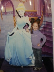 My Princess got to have her photo taken with one of her favorites