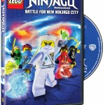 LEGO Ninjago: Rebooted: Battle for New Ninjago City Season Three Part One on DVD 8/5/14