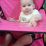 Ciao! baby The Portable High Chair - Breast Cancer Awareness Month