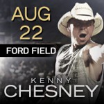 Kenny Chesney The Big Revival Tour  Coming to Ford Field  August 22, 2015