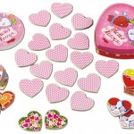 Kid Friendly Valentine Gifts  - Mimi Rattle & Hearts Memory