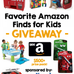 """Favorite Amazon Finds for Kids"" Giveaway"