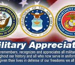 Armed Forces Day; May is Military Appreciation Month