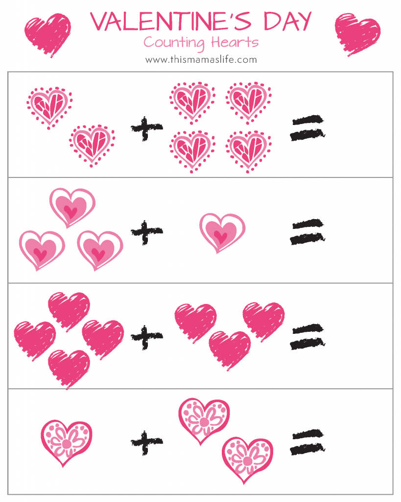 Vday-Printable Package-5-counting