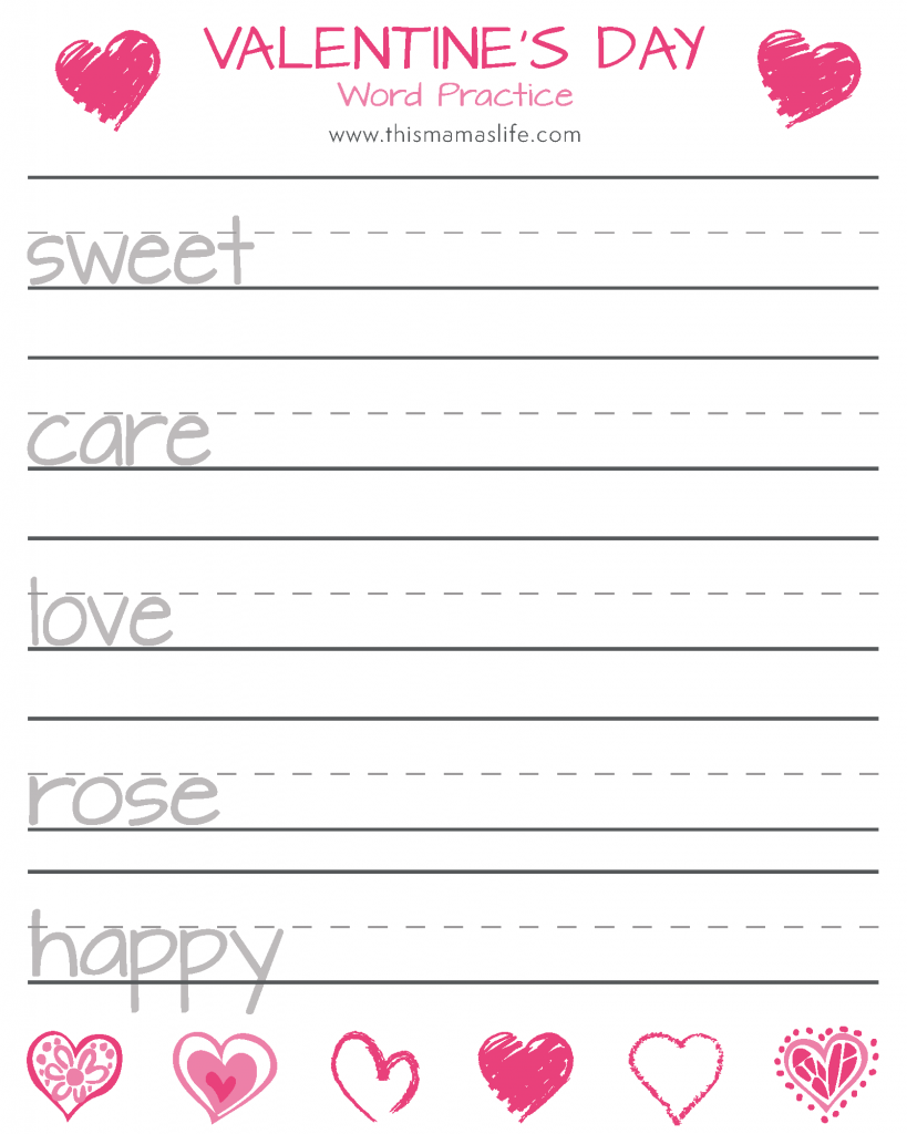Vday-Printable Package-5-writing