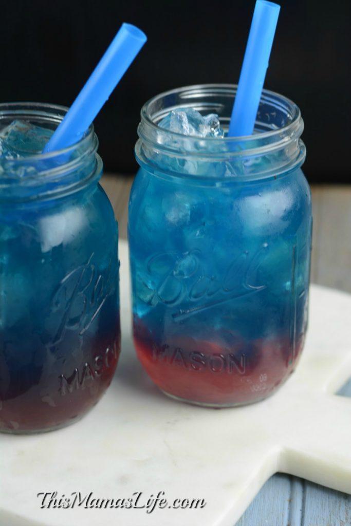 Captain America Inspired Drink 2