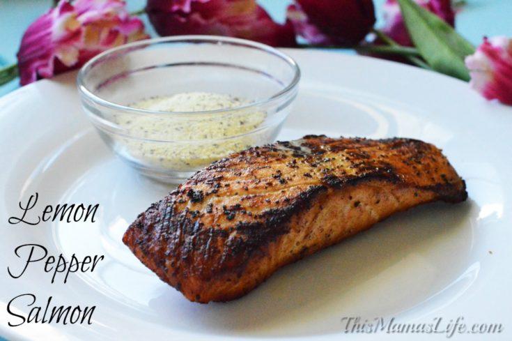 Blackened Lemon Pepper Salmon Recipe