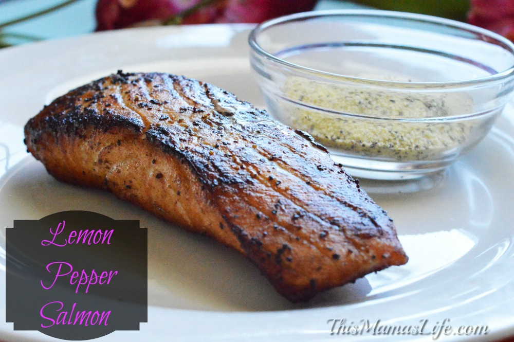 Simple recipe to make Blackened Lemon Pepper Salmon