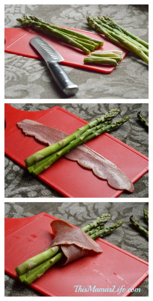 How to make an easy recipe for Bacon Wrapped Asparagus Bundles
