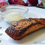Blackened Lemon Pepper Salmon