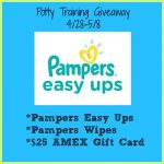 Potty Training Giveaway with Pampers