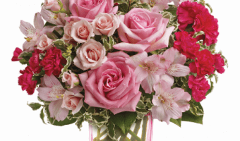 Honor Breast Cancer Awareness Month with Teleflora
