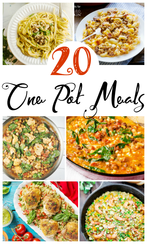 20 One Pot Meals