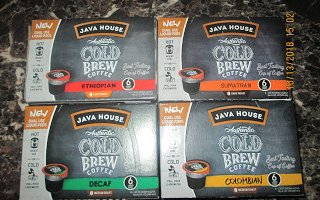 Java House Cold Brew Pods Giveaway