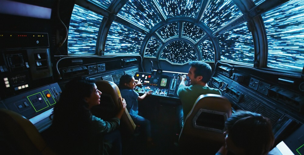 Galaxy's Edge Plans Millennium Falcon