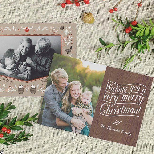 Basic Invite Christmas Photo Card