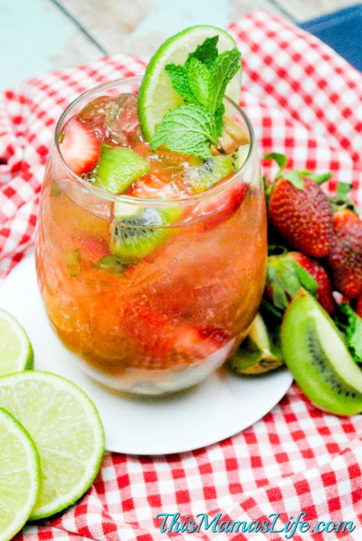 Strawberry Kiwi Mojito Recipe