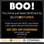 You've Just Been BOO-ed by BuyCostumes